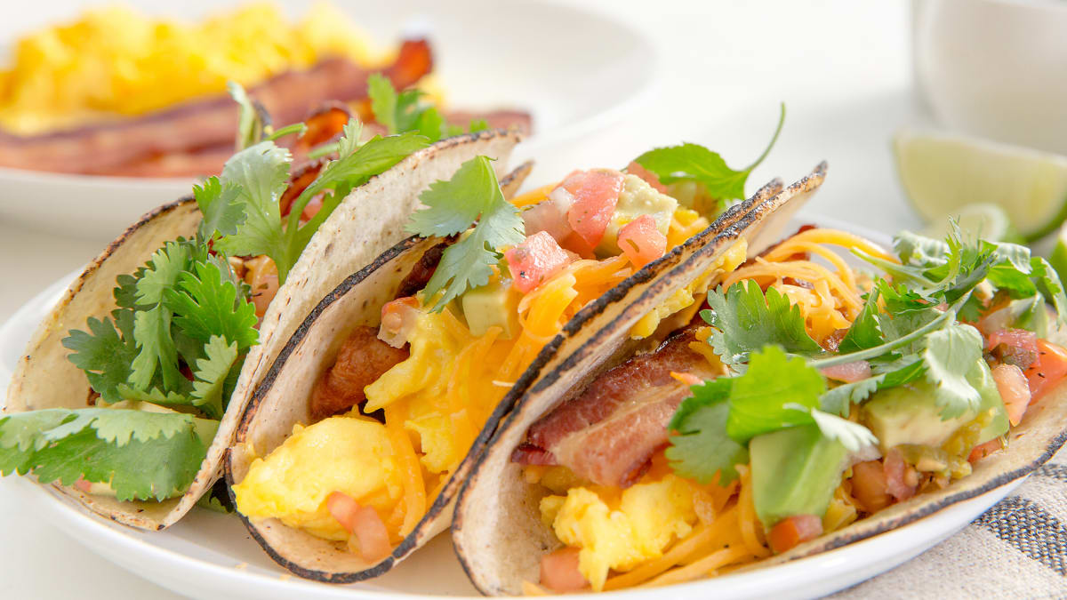 It's never too early for tacos, especially this easy breakfast version.
