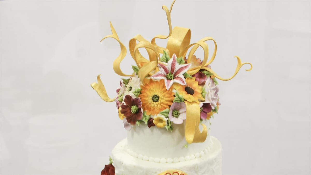 Pastry professionals compete at the Americas Cake Fair in Orlando, FL.