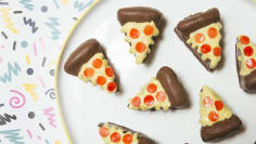 Cartoon Pizza Cake Truffles